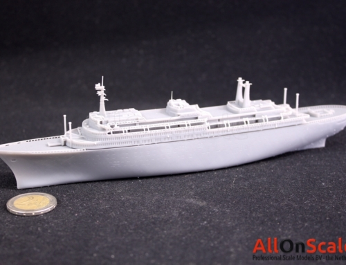 3D Printed Prototype SS Rotterdam