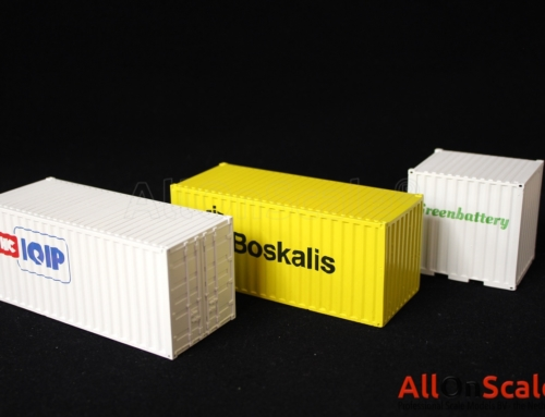 3D printed containers