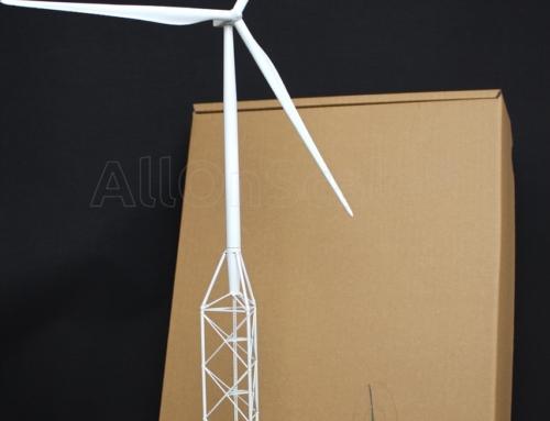 3D Printed NabraWind Wind Turbine