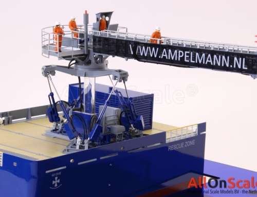 Ampelmann scale model with motion and different modules 1:40