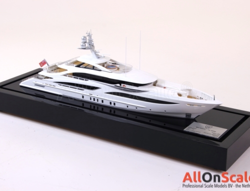 Heesen 56m Yacht 1:100