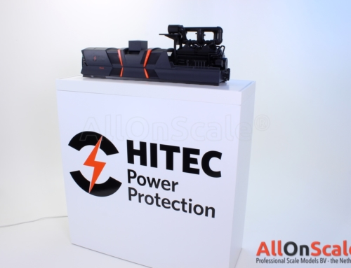 Hitec PowerPRO2700 1:10 with display furniture
