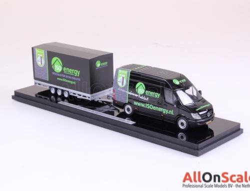 Desktop model: ISO Energy Mercedes Sprinter with trailer