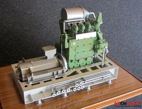 Wärtsila Engine Generator 1:10