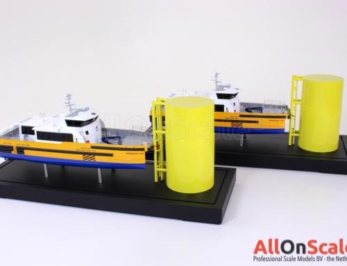 Windcat scale models 1:50